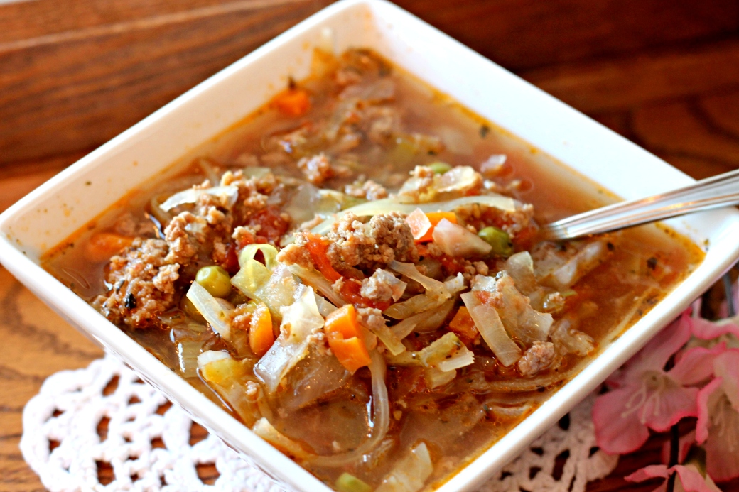 Beefy Cabbage Soup