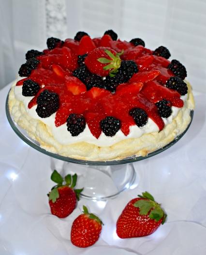 Strawberry Angel Food dessert FP
